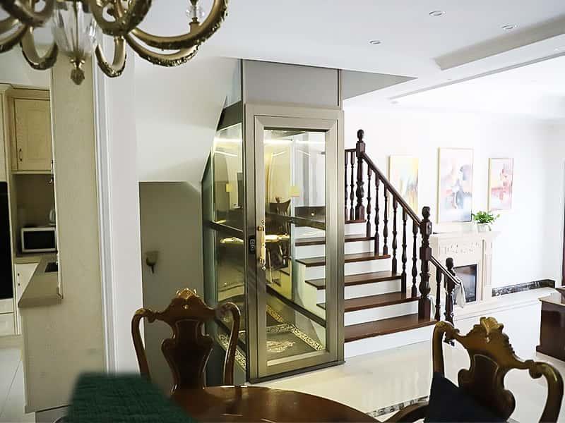 钢带平台梯